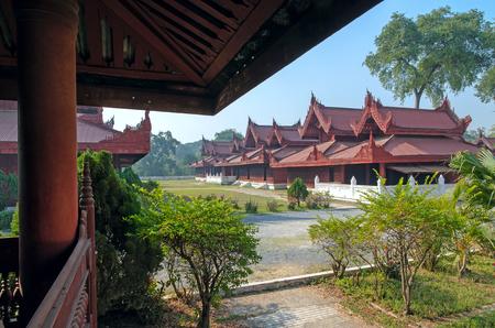 Royal Palace. Mandalay Editorial