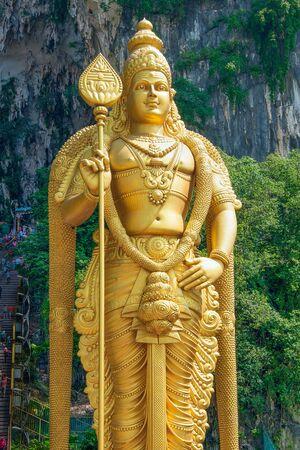 Batu Caves. Lord Murugan Statue