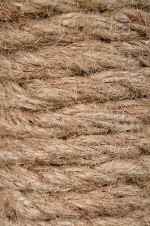 fibrous: spiral fibrous strong cord from hemp
