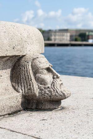 элементы исторической архитектуры башни в Стокгольме, Швеция