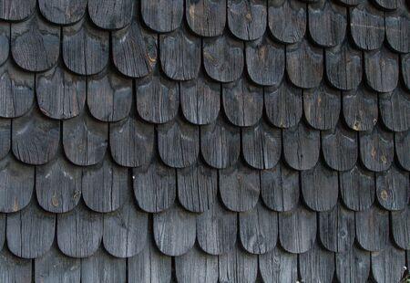 viejos azulejos de madera negros Foto de archivo - 15288935