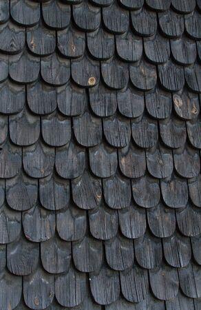 old black wooden tiles