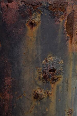 metal corrosion: backgound with corrosion metal and abstract texture