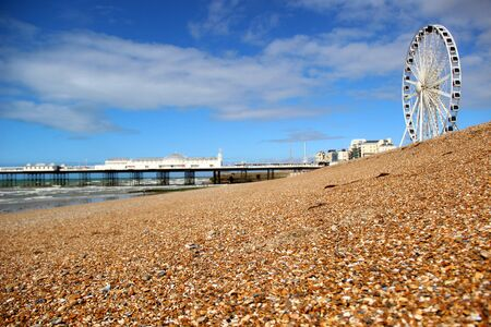 Brighton pier and Brighton eye