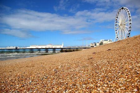 clody: Brighton pier and Brighton eye