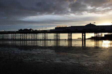 clody: Brighton pier and sunset