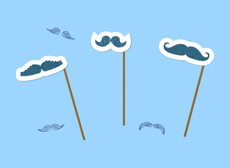 Fake Mustaches set.