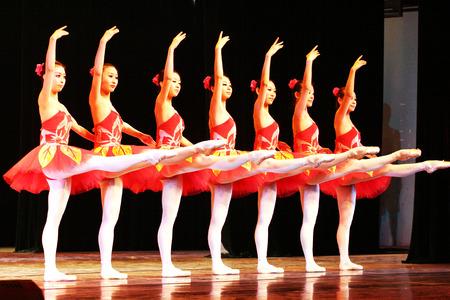 raise your hand: Ballet