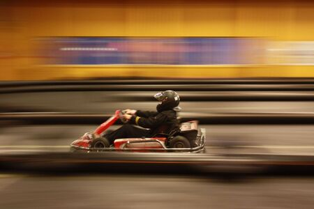 go kart: Karting with high speed