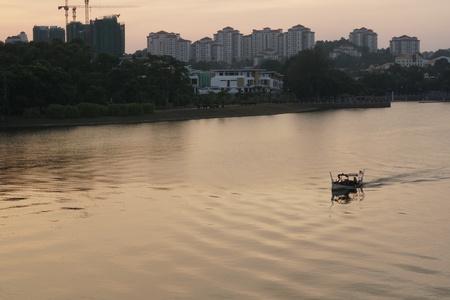 Putrajaya sunset scenery Reklamní fotografie