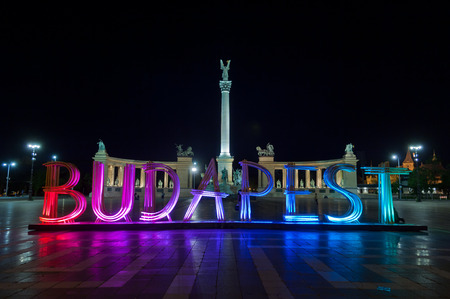 square: Budapest letters, Heroes Square