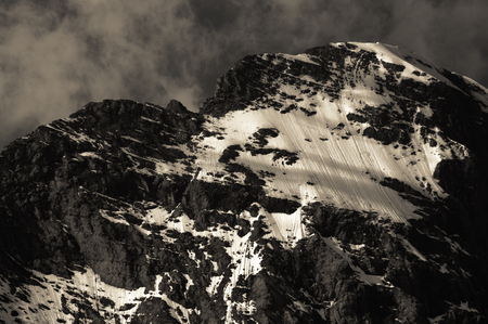 eiger: Eiger, Swiss Alps - snow capped mountains and deep valleys, stunning view, breath-taking panorama