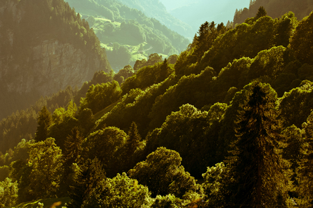 monch: Swiss Alps - high mountains and deep valleys, stunning view, breathtaking panorama