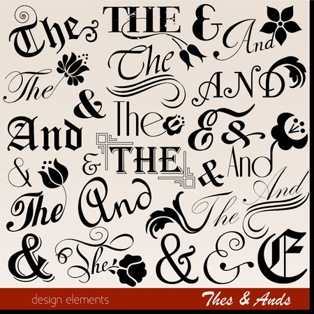 Ornate thes   ands  Illustration