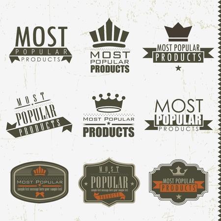 les plus: Signes les plus populaires et les �tiquettes