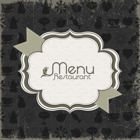 trays: Restaurante elementos de men� de dise�o