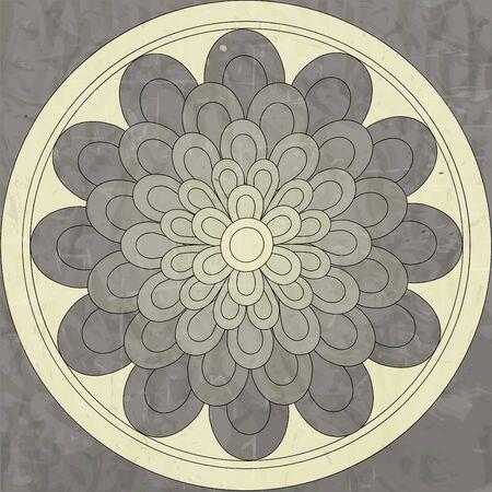 mandala, ethnic pattern native
