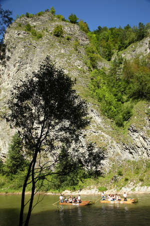Poland  Pieniny National Park  Dunajec River Stock Photo - 13172174