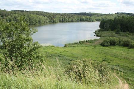 turism: Brodnica Landscape Park north-central Poland  Stock Photo