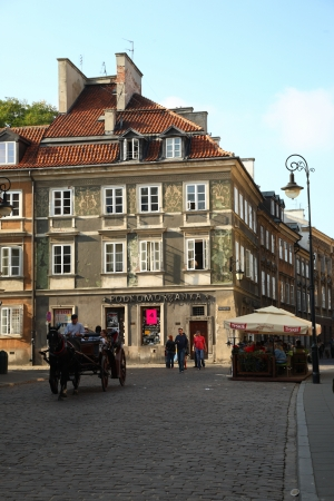 showplace: Old town in Warsaw
