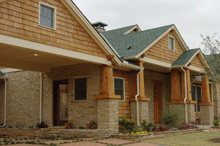 craftsman style home in Texas