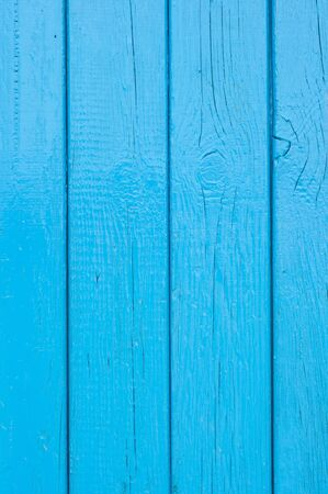 Blue old boards Stock Photo