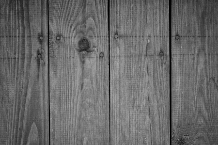 Black and white old boards texture Stock Photo