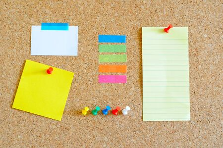 Pin board with lots of items Stock Photo - 17580491