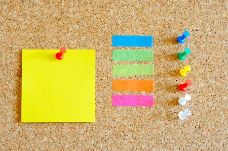 Pin board with lots of items Stock Photo - 17580497
