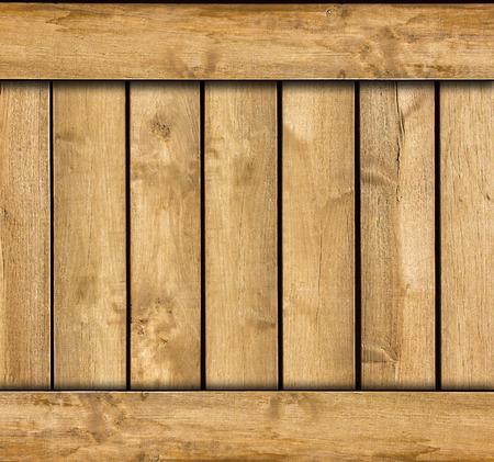 木製ボックス テンプレート。