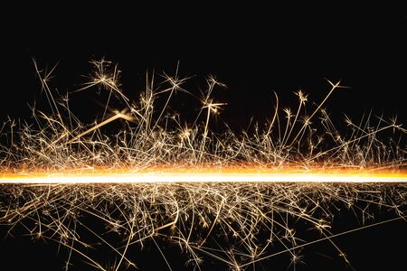 Abstract sparks motion texture. Stock Photo