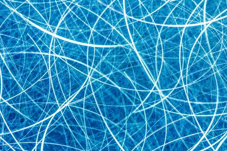 Moving blue neon lights texture. Banque d'images - 125080194