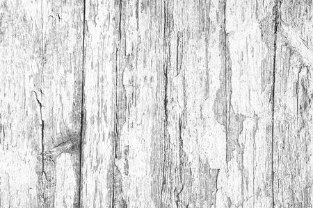 White wooden desk dry peeling paint grunge texture.