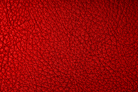 Red color abstract leather grunge texture.