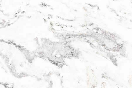Marble texture. White mineral background. Geology simple pattern. Gray natural backdrop for graphic design. Light and bright granite stone grain.