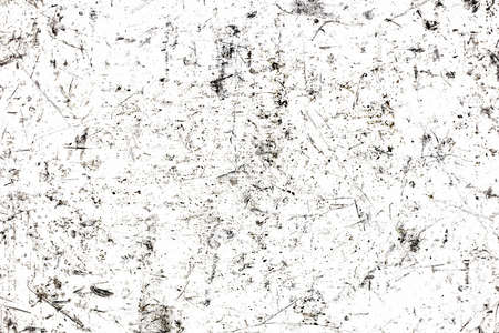 Scratches background. White paint metal grunge surface. Crack lines pattern. Distressed industrial texture. Scratched iron sheet. Stockfoto