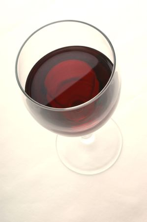 winemaker: Red wine in a glass