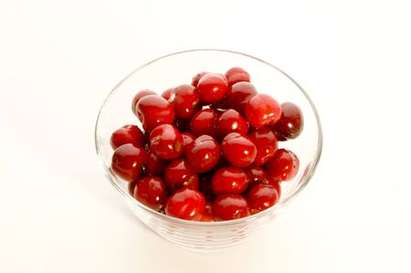 sugary: fresh sour cherries from the garden