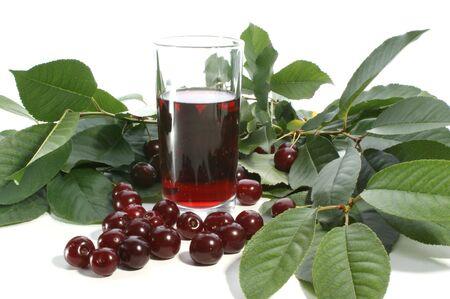 heathy: cherry juice and red cherries