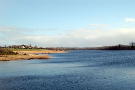 lough: Lough Erne, a lake in Northern Ireland