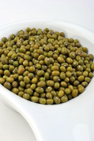 organic mung beans are good for salad Stock Photo