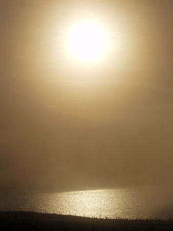 achill: sunset on achill island county mayo ireland