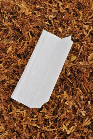 make your own cigarette with organic tobacco photo