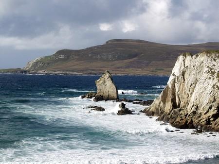 achill: achill island, island west from the republic of ireland Stock Photo