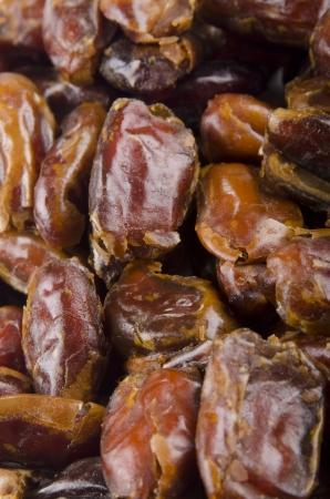 pitted: alcuni essiccati al sole date organici snocciolate