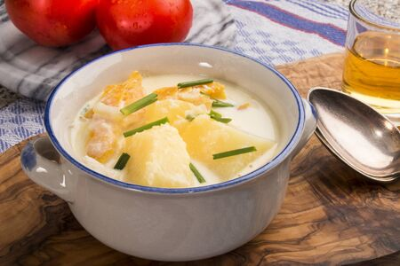 cullen skink fish dish, a very traditinal scottish dish