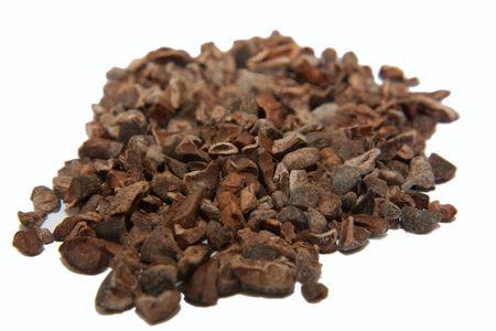 cacao beans: un mont�n de cacao en grano
