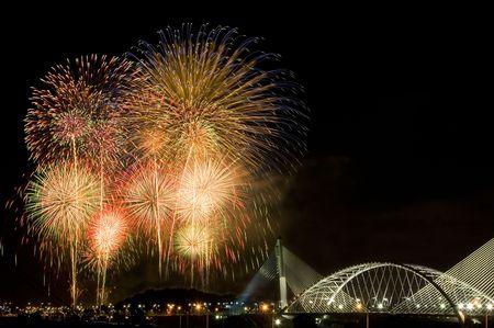 exploding fireworks photo