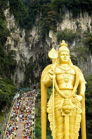 kavadi: thaipusam festival