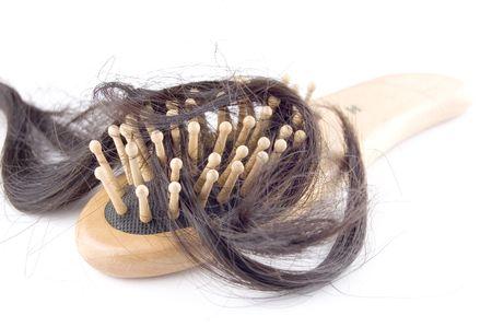 comb hair: perdita di capelli problema